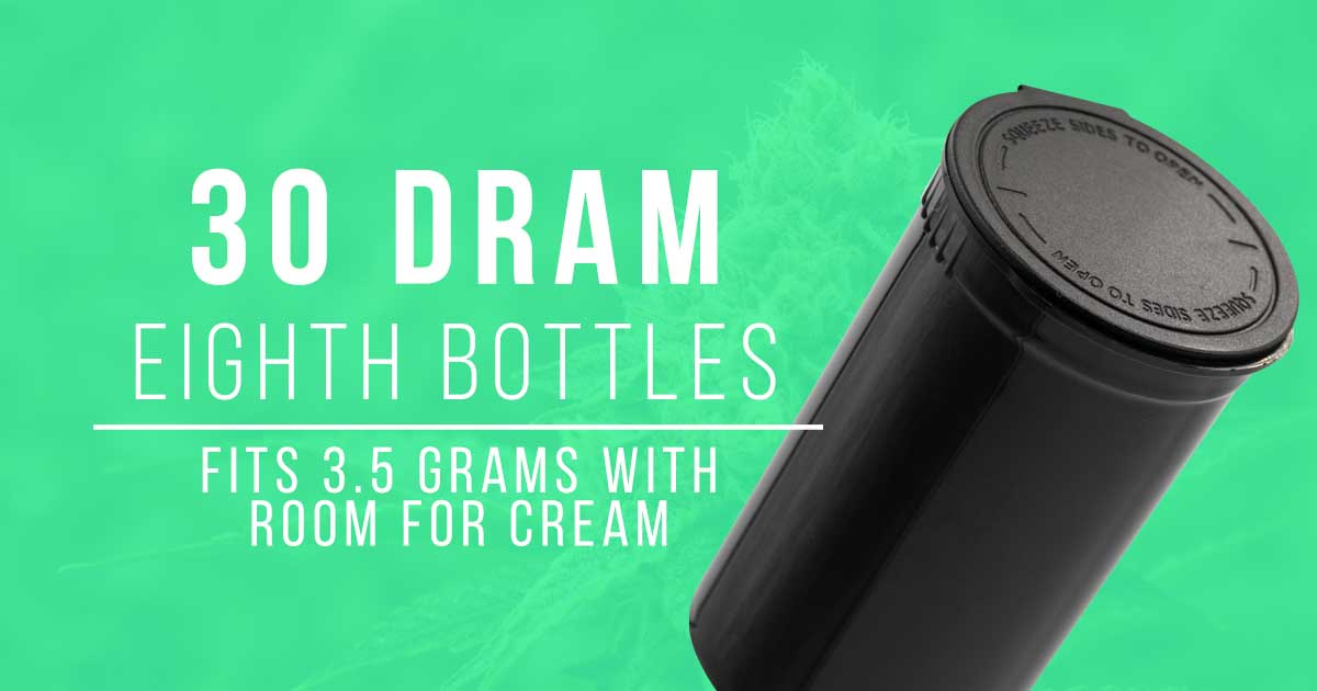 30 dram pop top bottle