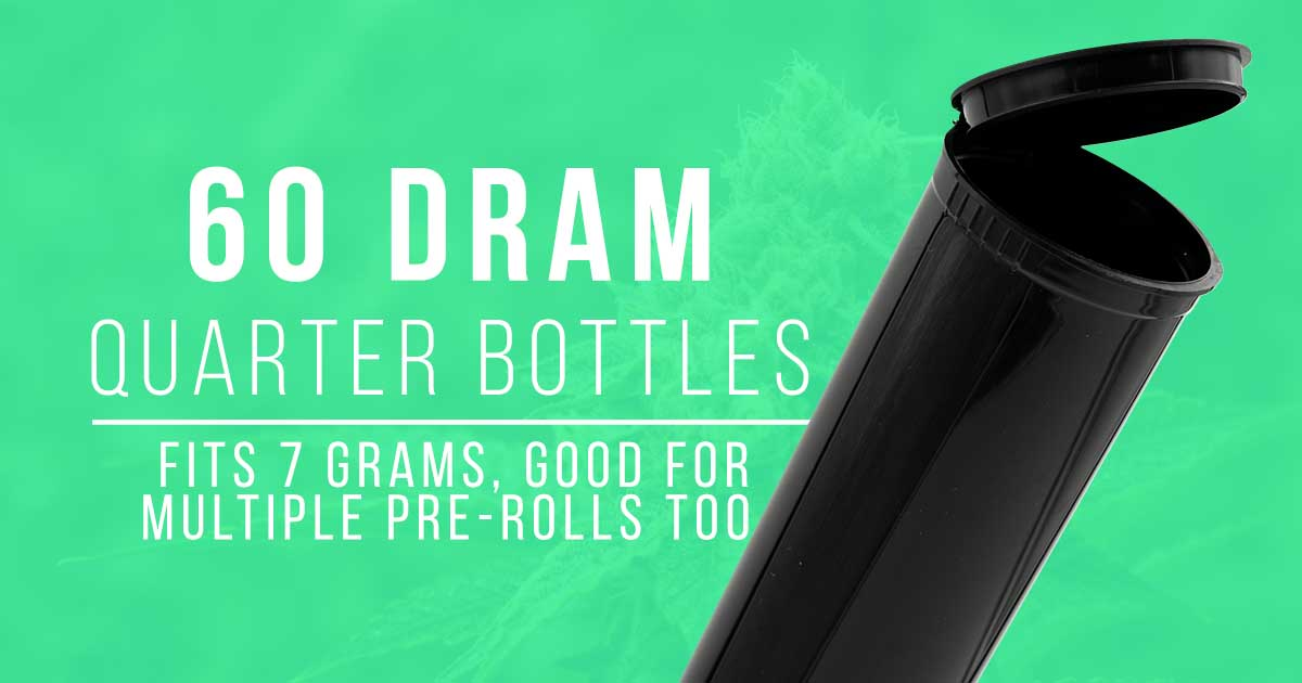60 dram pop top bottle
