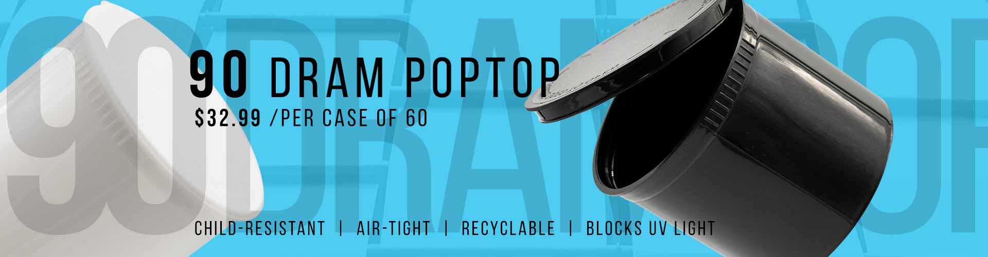 90 dram poptop