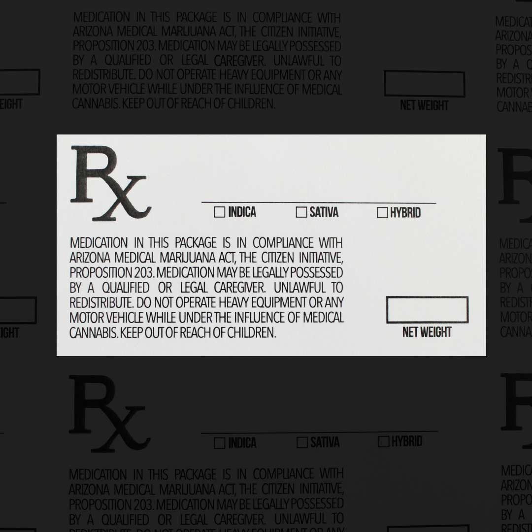 Arizona Medical Marijuana Labels